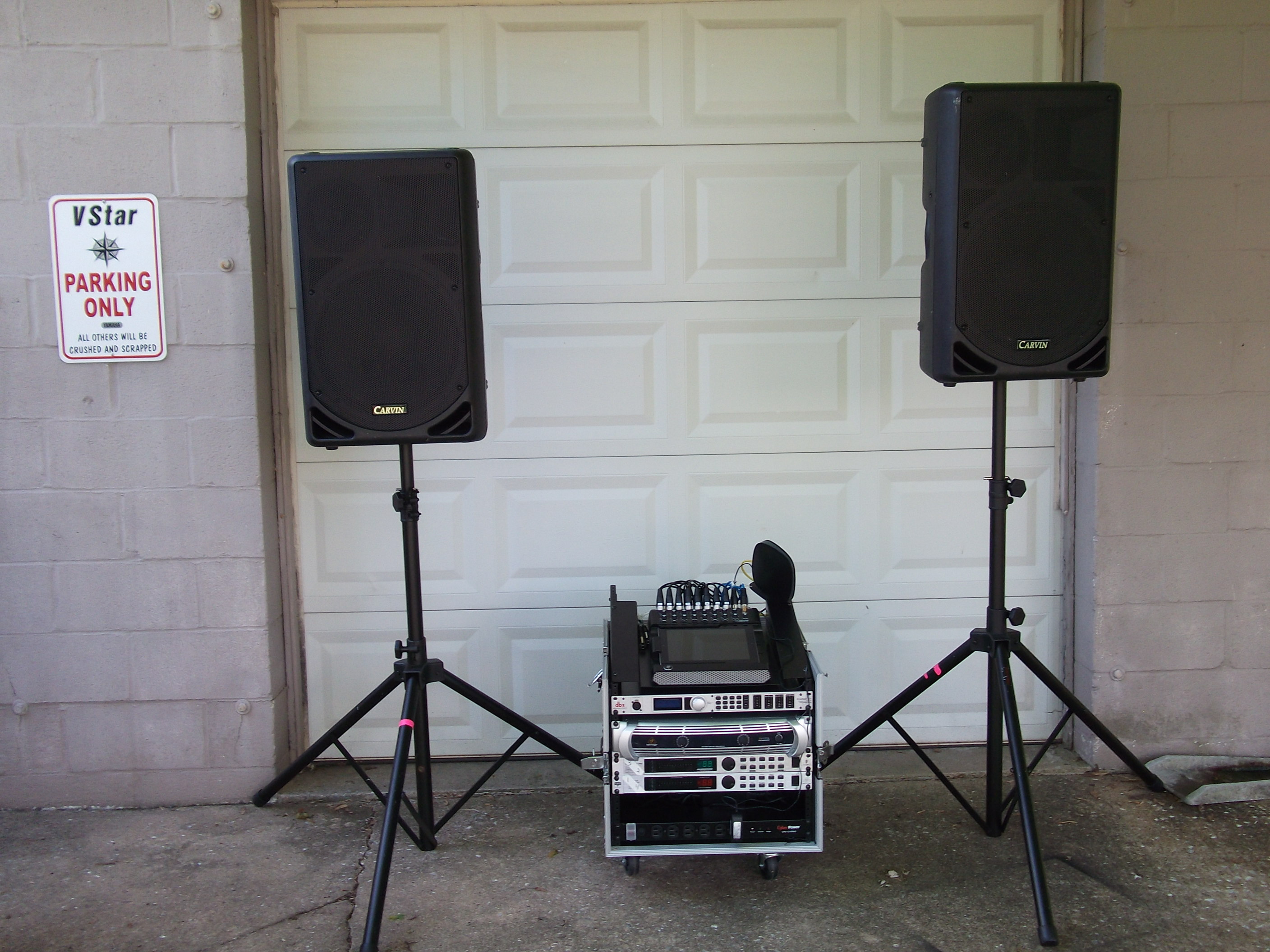 Etc Using Pre Recorded Audio Tracksup To 100 People Or For DJ Ing Very Small Groups40 Perfect System Wedding Receptions