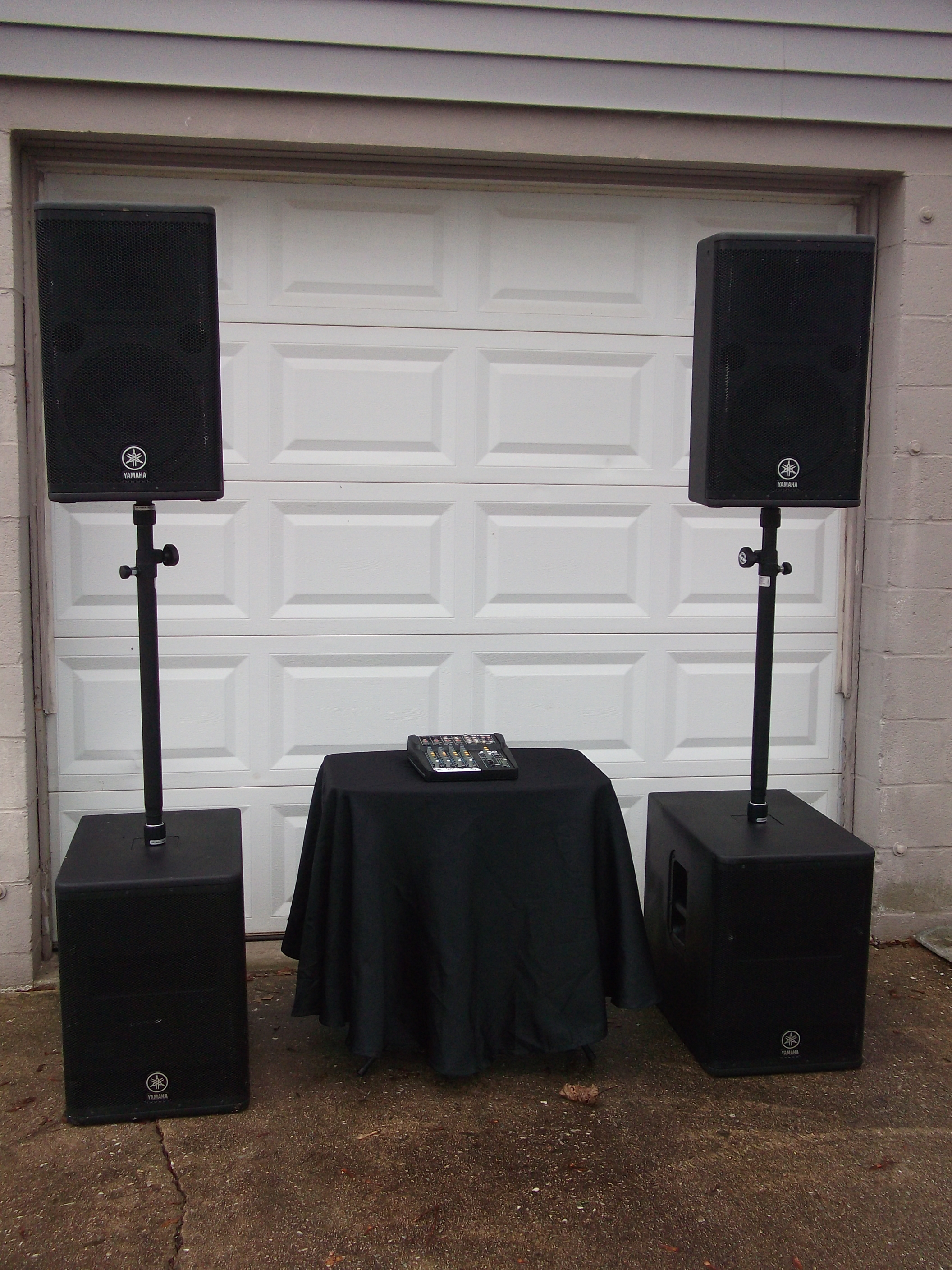 Wedding Services 4th Street Sound Rental When You Care Enough To